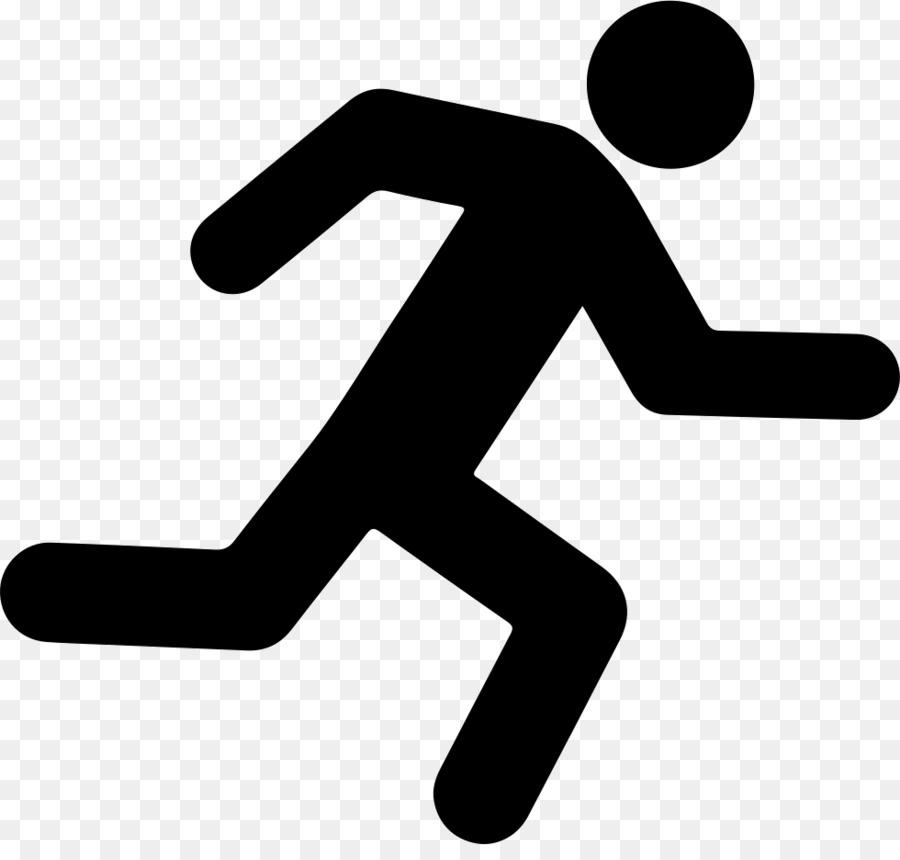 Computer Icons Running Symbol Running Man Png Download 980920