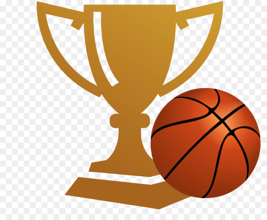 Basketball Trophy Champion Clip Art