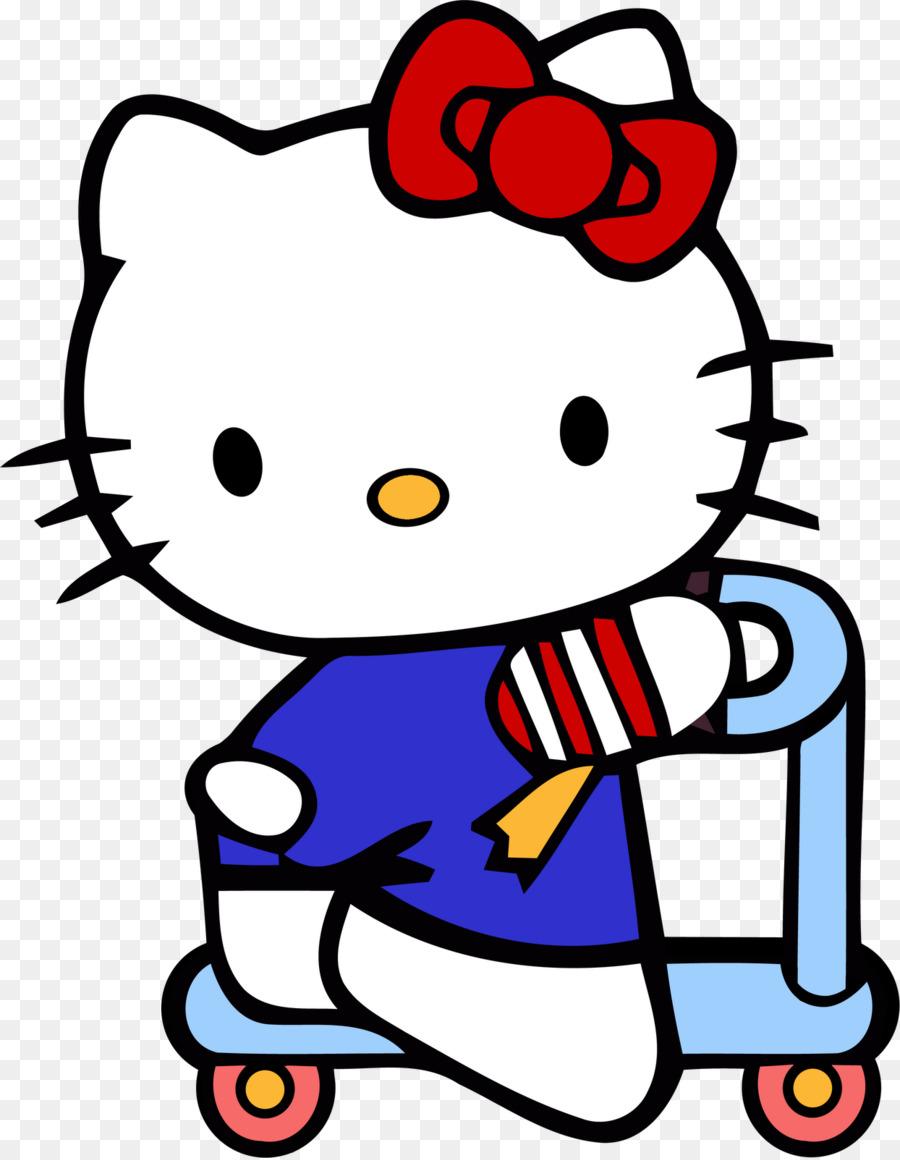 Hello Kitty Clip de Animación arte - hola Formatos De Archivo De ...