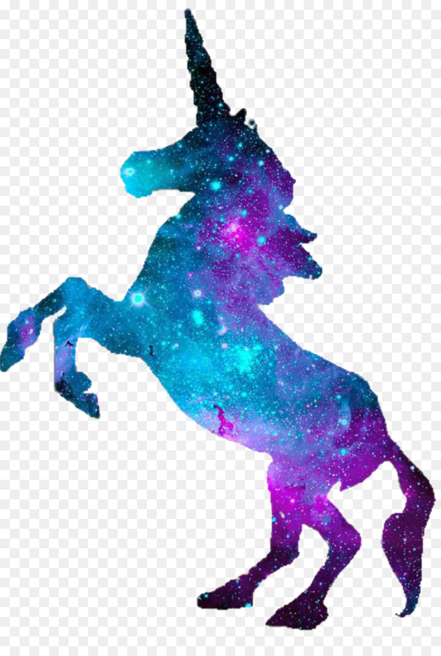 unicorn silhouette pegasus clip art