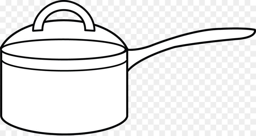 Cooking Pot Coloring Pages