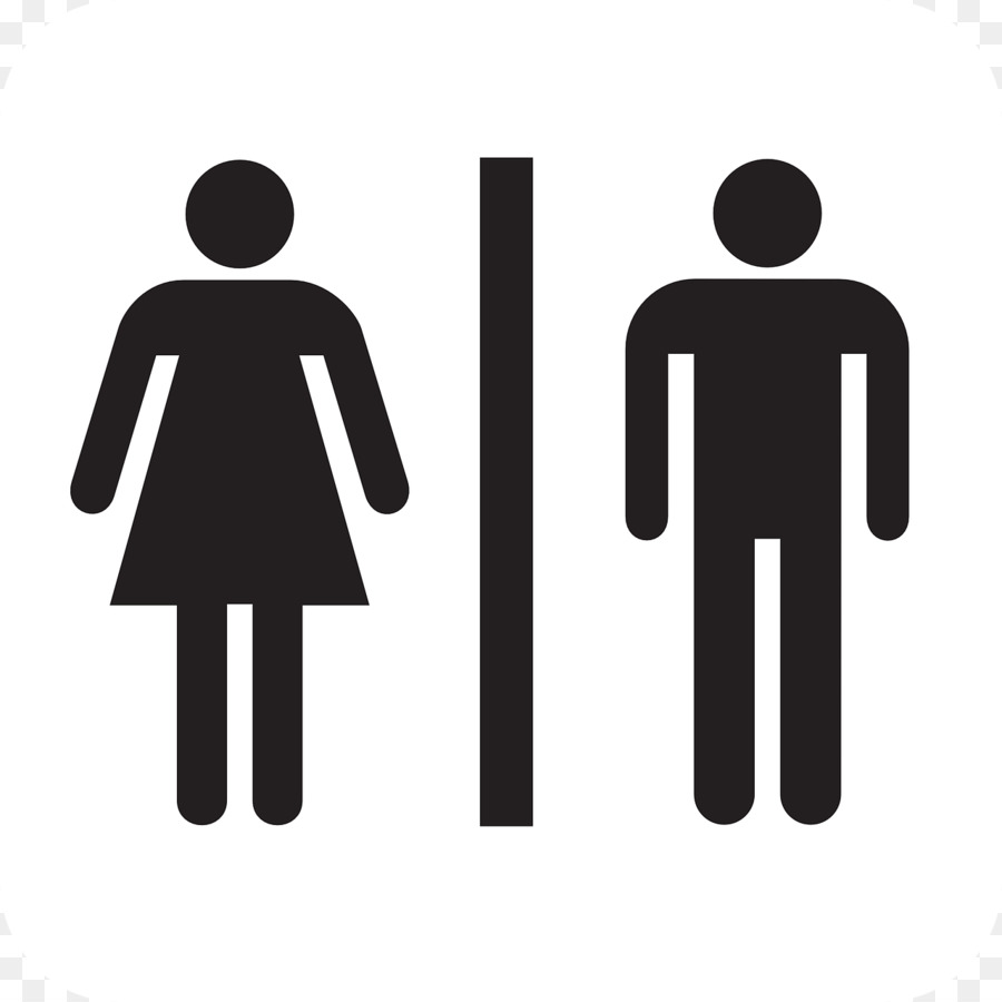 female sign stock on black funny photo white bathroom and male