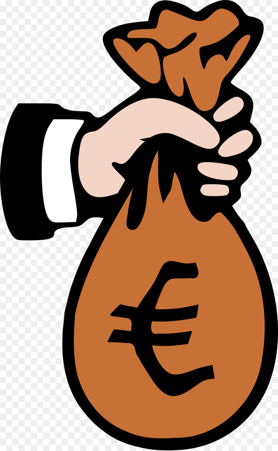 money bag clip art euro png download 1481 2400 free rh kisspng com free clipart money bag