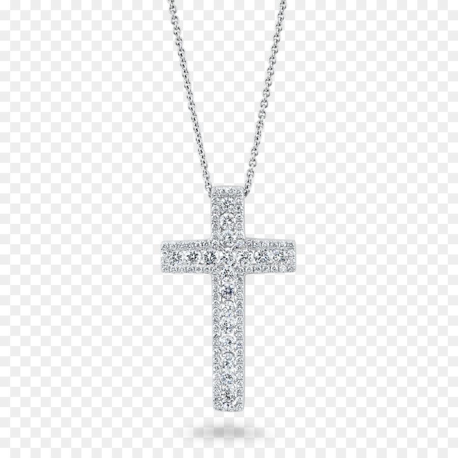 Earring Charms Pendants Jewellery Diamond Cross Christian Cross