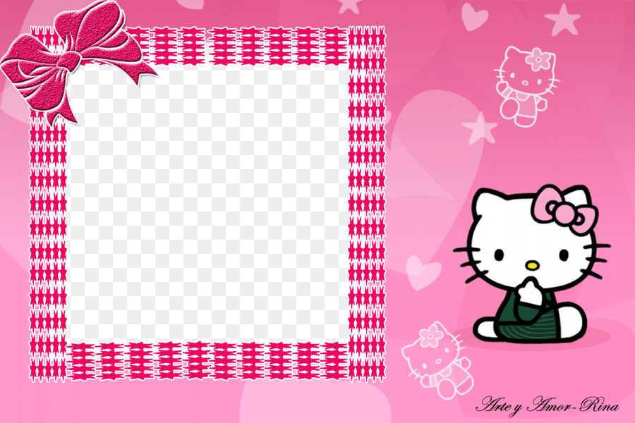 d605f85aaca0a Hello Kitty Frame png download - 1500*1000 - Free Transparent Hello ...