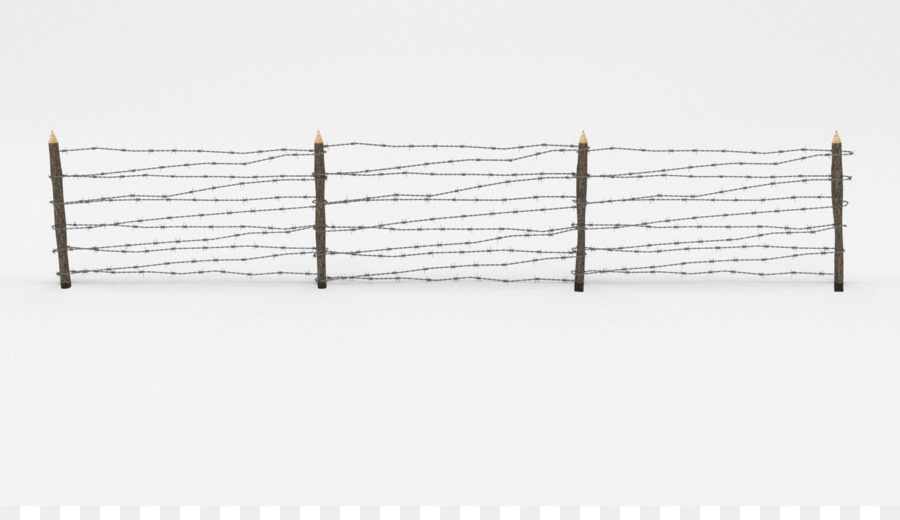 Barbed wire Fence Wire obstacle Low poly CGTrader - barbwire png ...