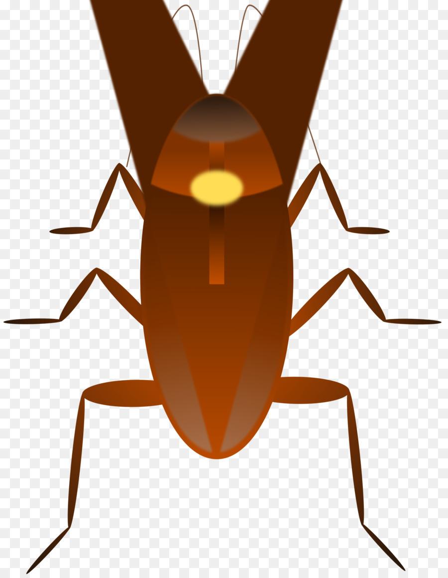 dr cockroach insect clip art roach png download 1863 2400 rh kisspng com cockroach clipart black cockroach clipart png