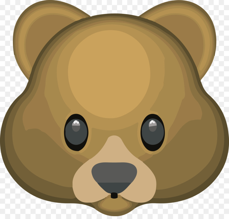 t shirt bear emoji bag facebook messenger beaver png download