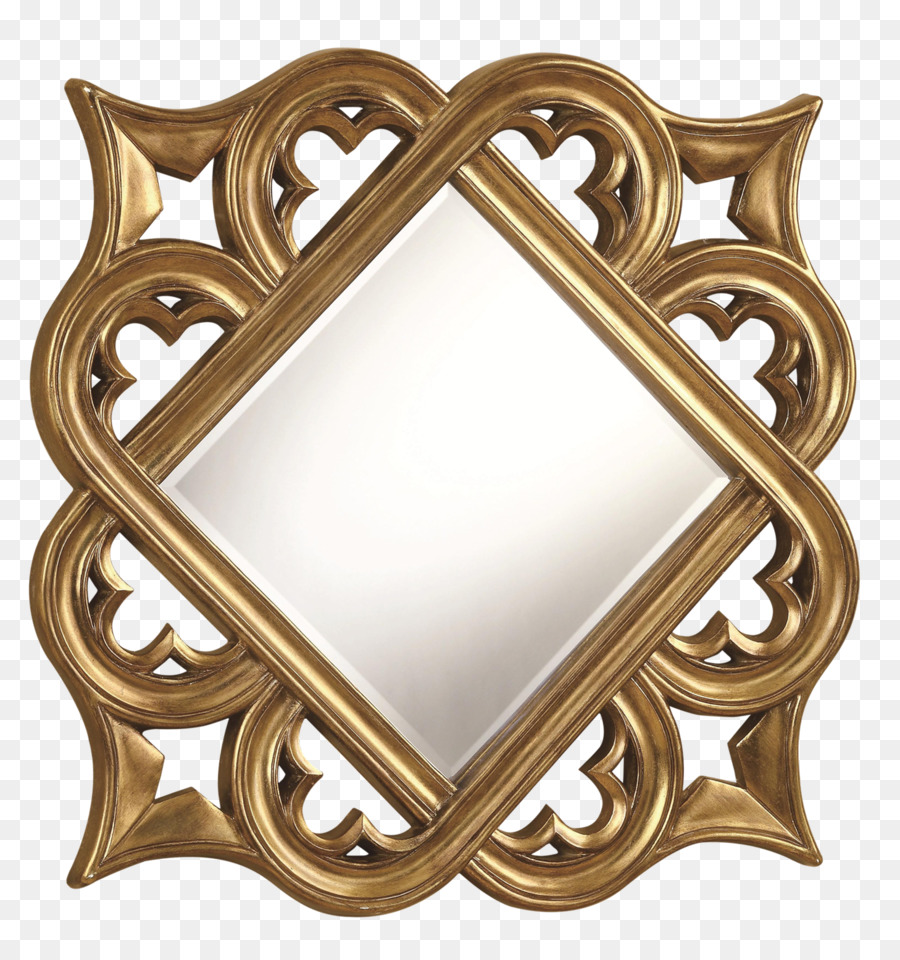 Mirror Picture Frames Decorative arts Gold Wall - mirror png ...