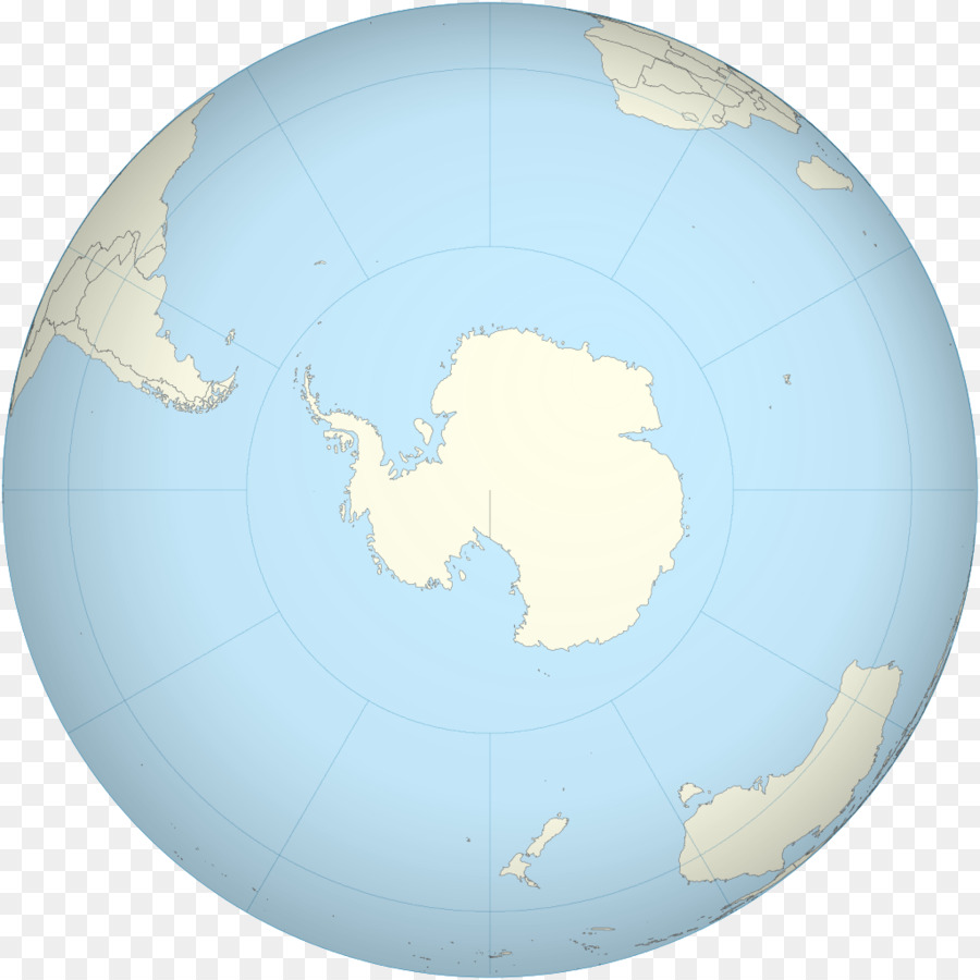 Antarctica Earth Globe World map - plates png download - 1024*1024 ...