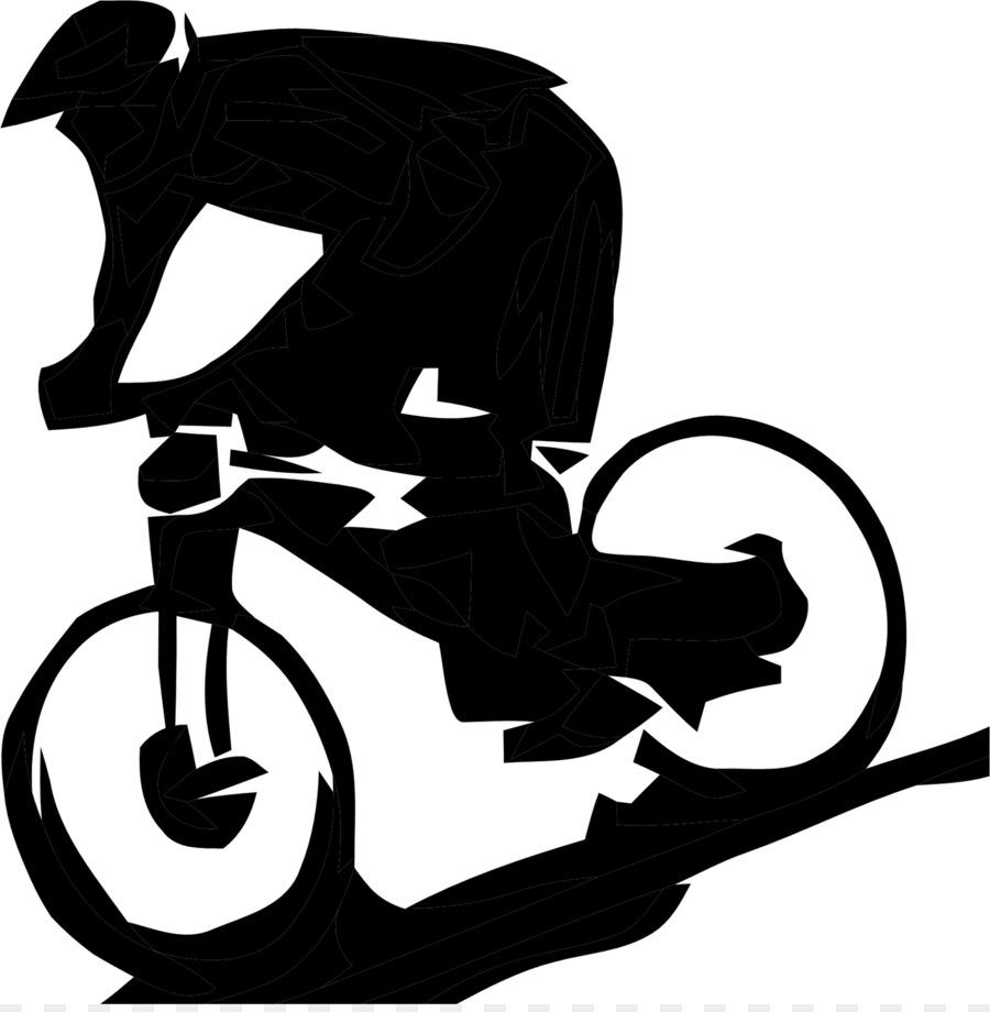 Mountain Bike Bicycle Downhill Biking Clip Art