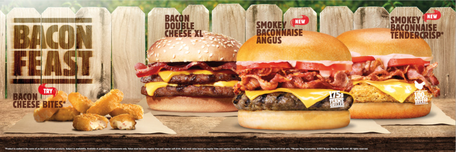 Whopper Bacon Cheeseburger Hamburger Breakfast