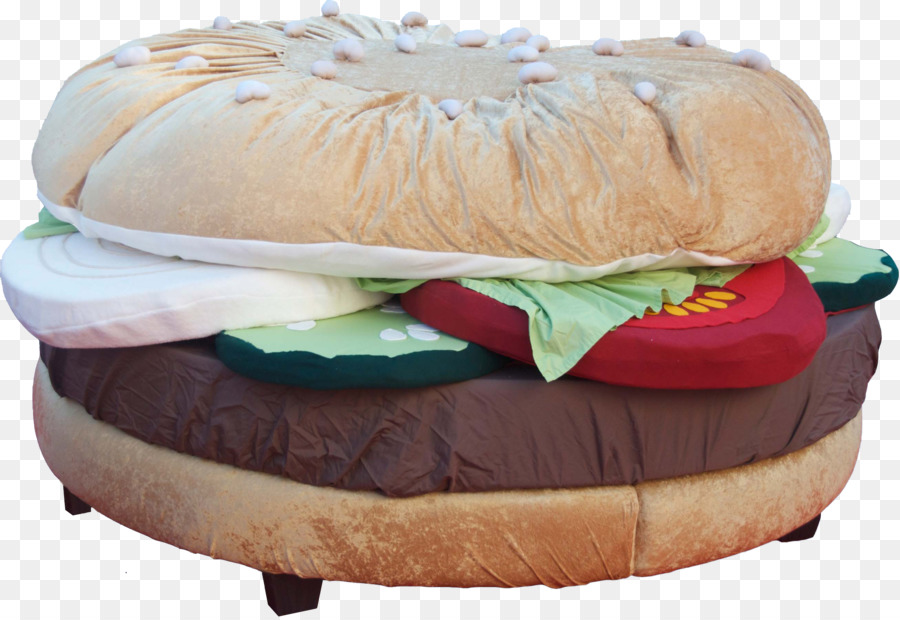 Charmant Hamburger Cheeseburger Table Bed Bean Bag Chair   Bed