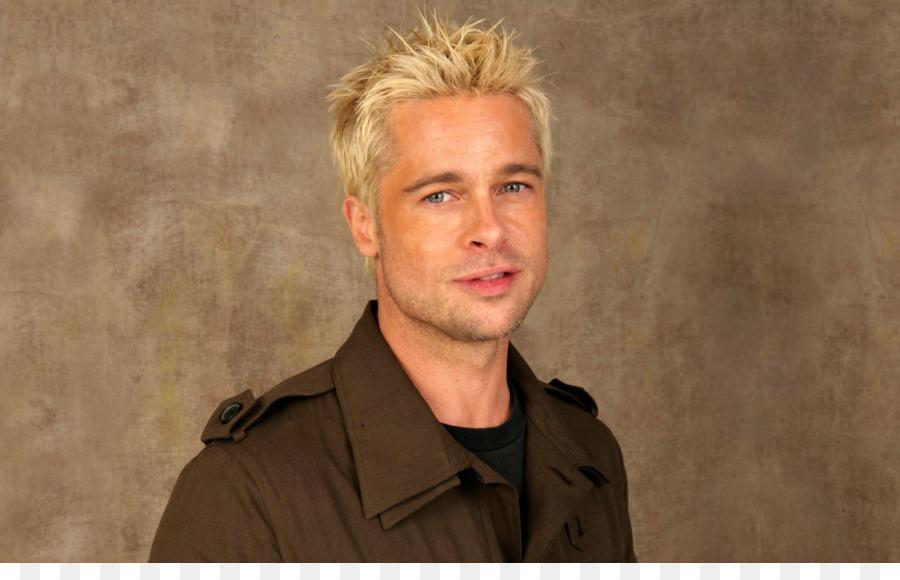 Brad Pitt Fight Club Frisur Blond Brad Pitt Png Herunterladen