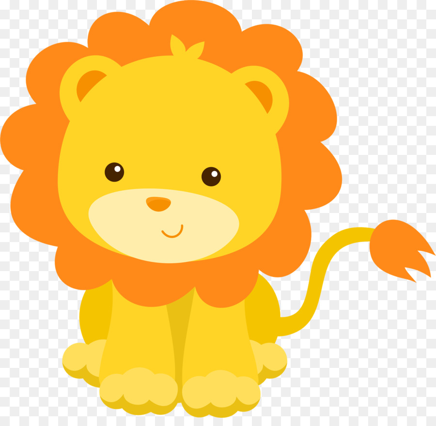 Lion Infant Baby Shower Child Clip Art Safari 1600 1534