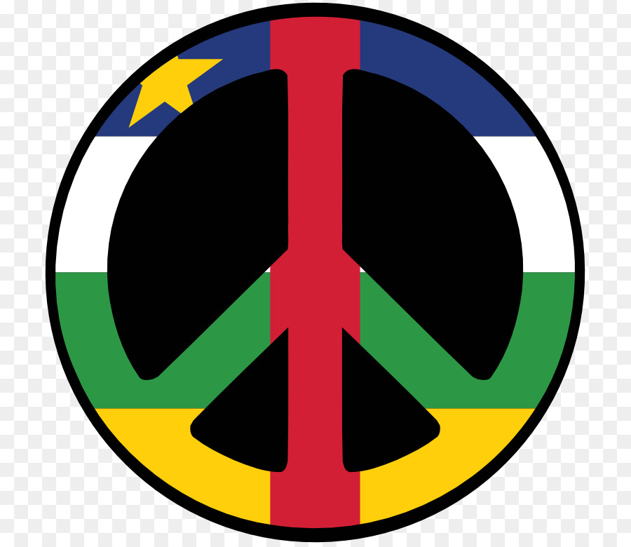 Central African Republic South Africa Peace Symbols Clip Art