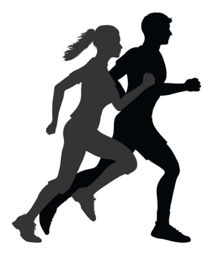 Running Silhouette Jogging Clip art - running man png download ... for people running silhouette png  257ylc