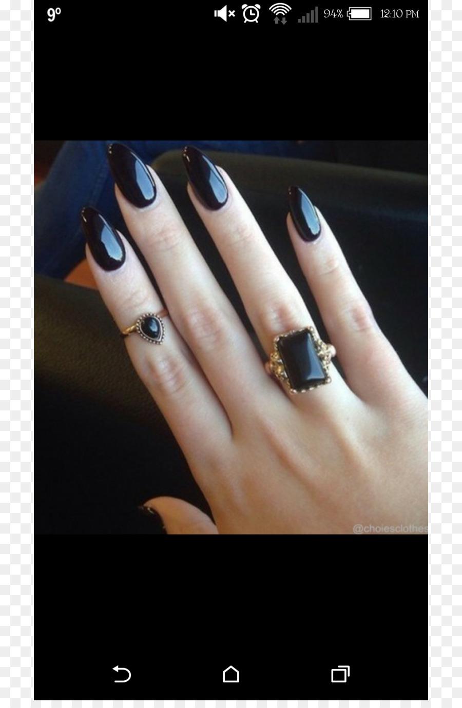 Nail art Gel nails Artificial nails Nail Polish - metal nail png ...