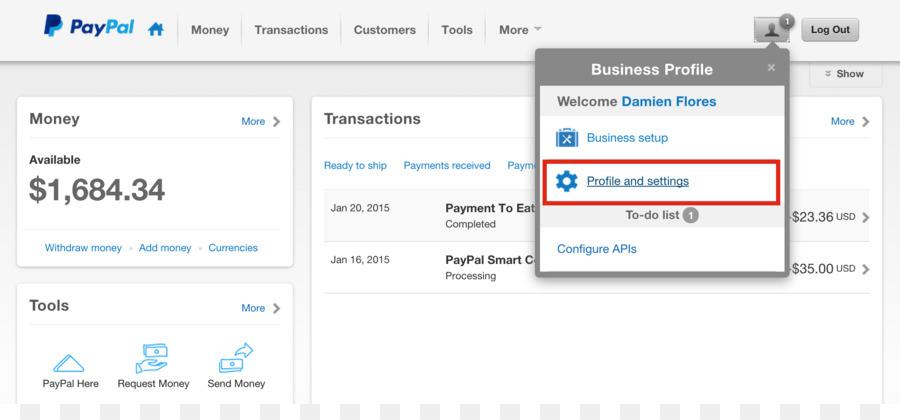 Paiement PayPal Vente De Cartes Visite Carte Credit