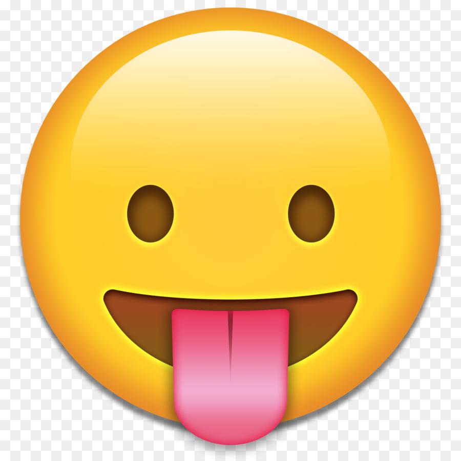 Tongue emoji text