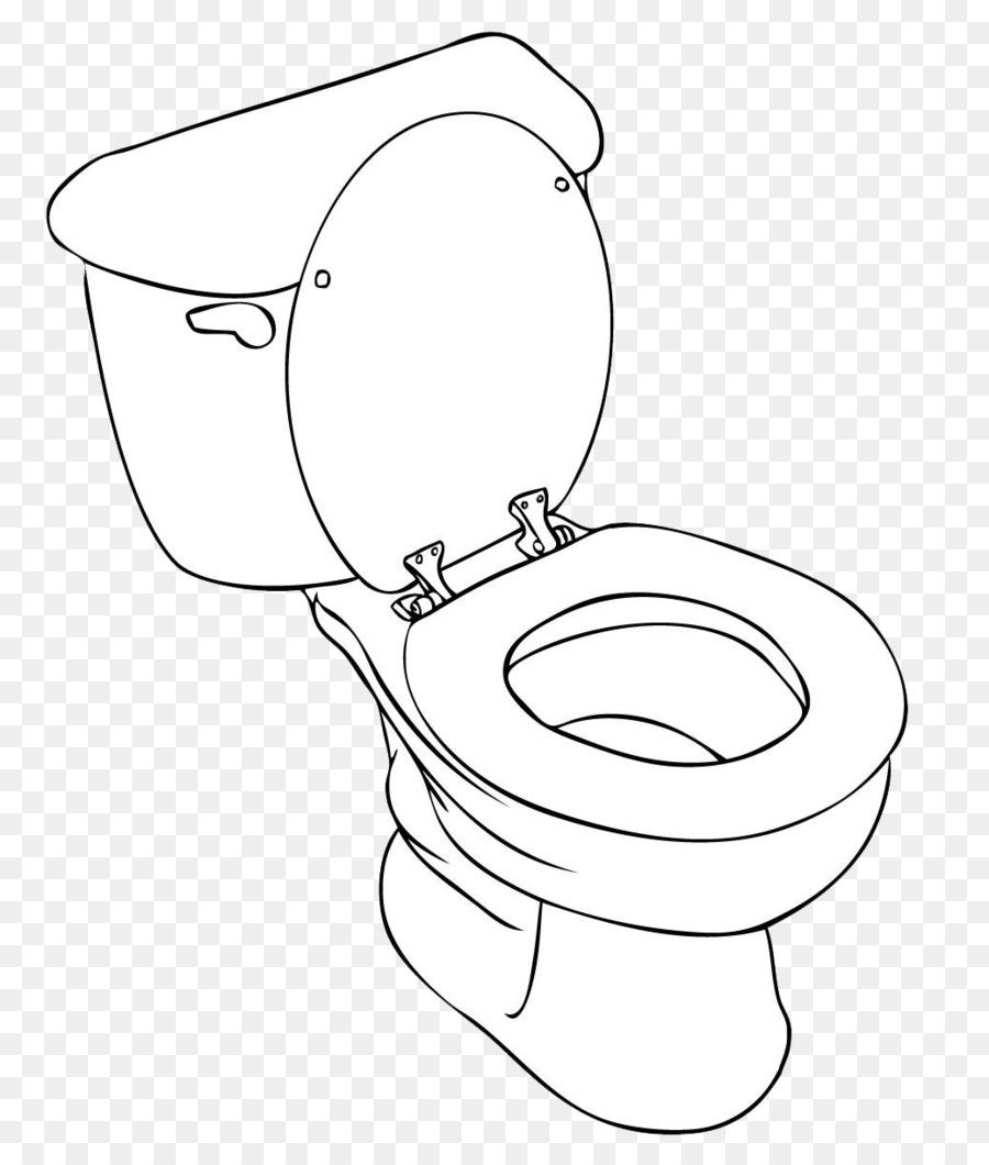 Bathroom Art Flush Toilet: Drawing Toilet Sketch