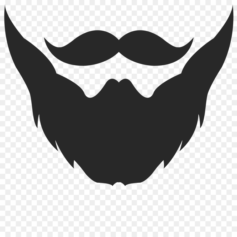beard logo moustache clip art - beard png download - 1500*1500