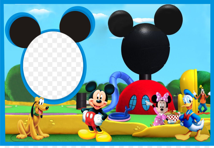 Mickey Mouse Minnie Mouse Photography Photomontage Picture Frames