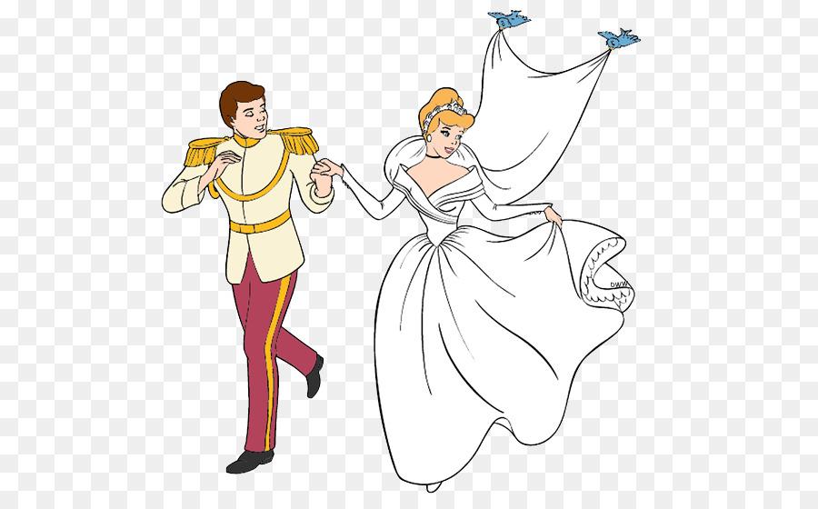 Prince Charming Cinderella Jaq Drawing Clip Art Wedding Disney Cliparts 550 545 Transp Png Free