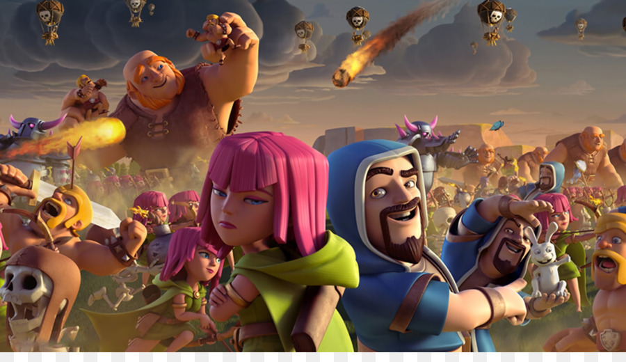 Clash Of Clans Clash Royale Desktop Wallpaper 1080p High Definition