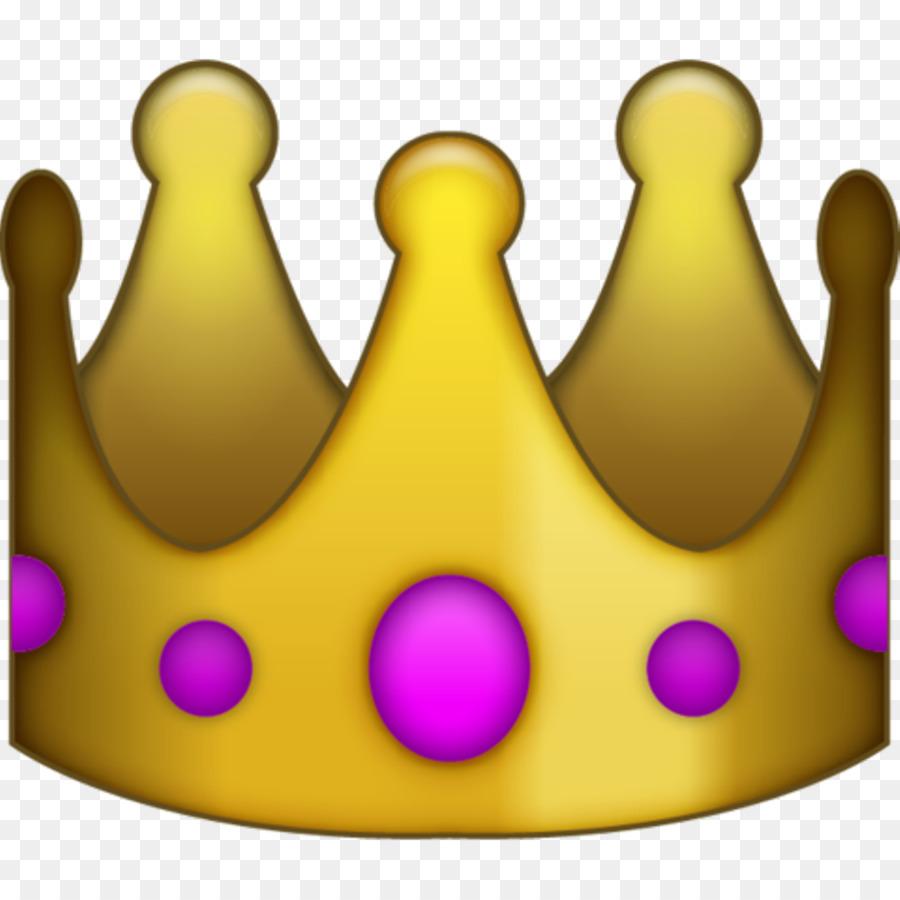 Emoji Social Media Sticker Crown Clip Art Emoji Png Download