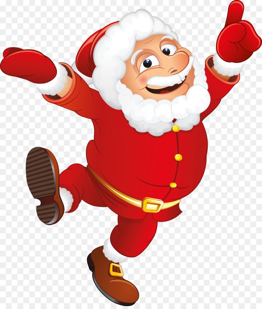 Weihnachtsmann Weihnachtsclip Art Weihnachtsmann Png Herunterladen