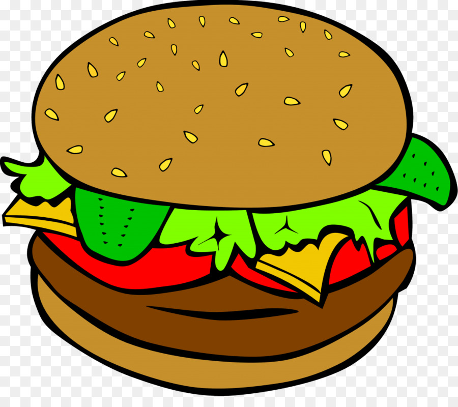 hamburger hot dog cheeseburger fast food clip art burger png rh kisspng com cheeseburger clip art free double cheeseburger clipart