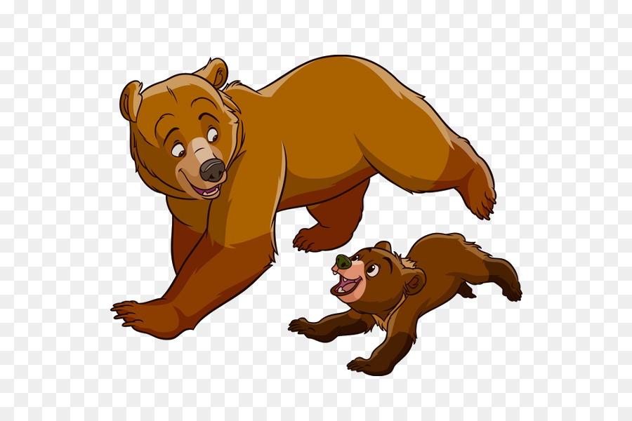 Brother Bear Koda Animation Clip Art