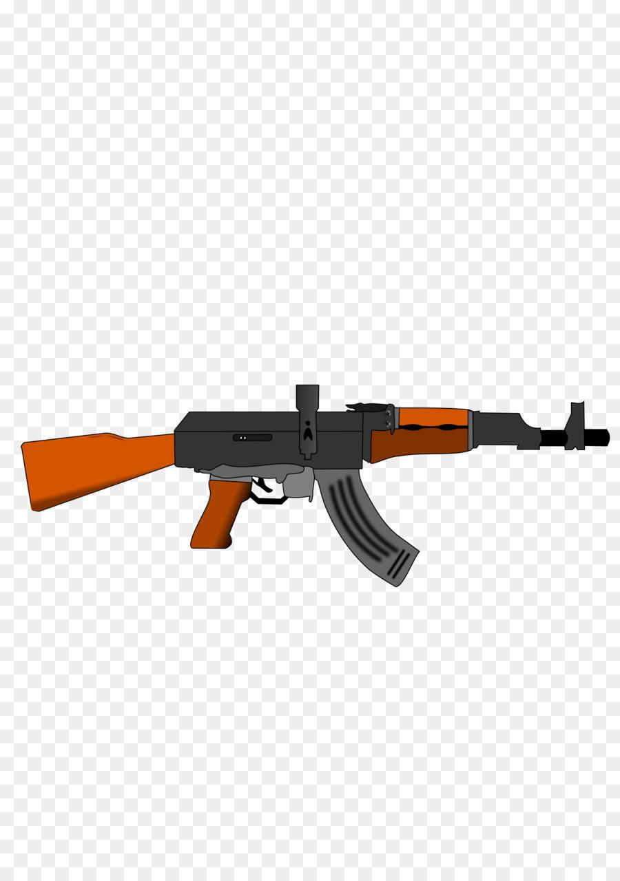 ak 47 firearm clip art machine gun png download 2400 3394 free rh kisspng com ak 47 black clip art Glock Clip Art