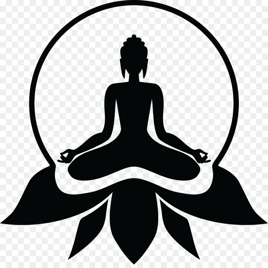 Yoga Symbol Buddhism Lotus Position Buddhism Png Download 2274
