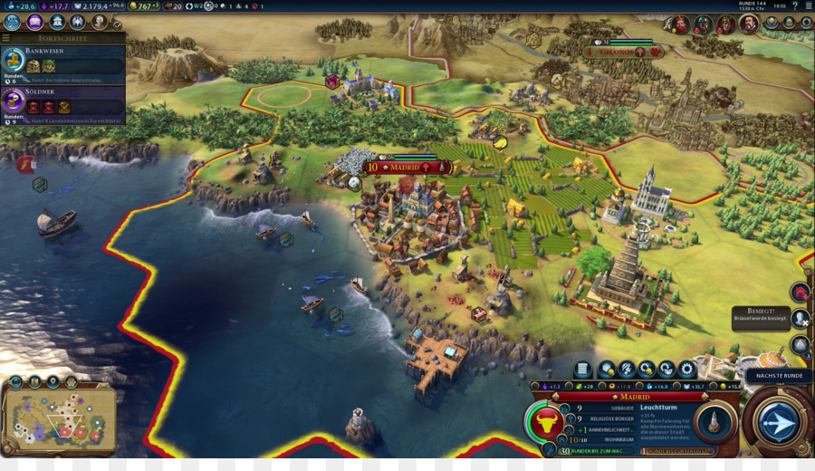 Civilization Vi Biome png download - 1920*1080 - Free