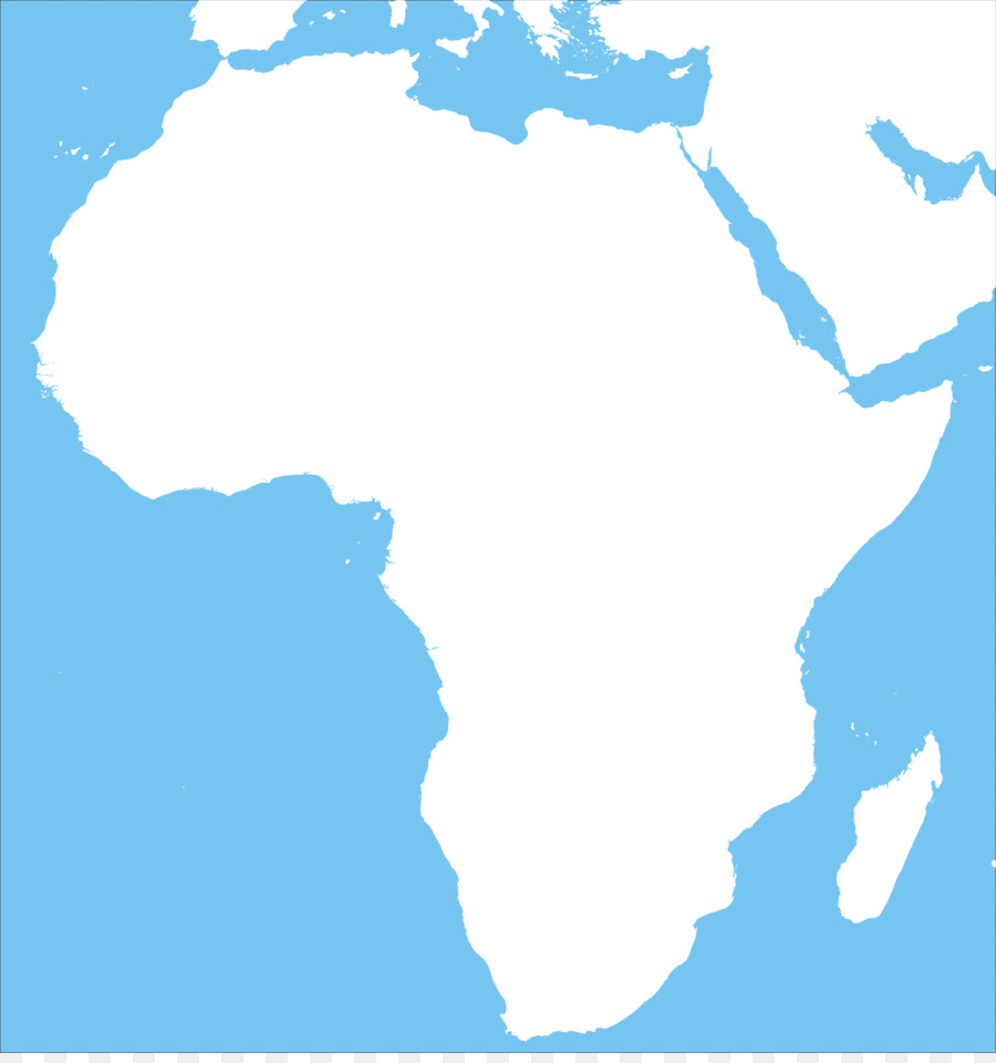 North Africa Blank map Physische Karte Geography - Africa png ...