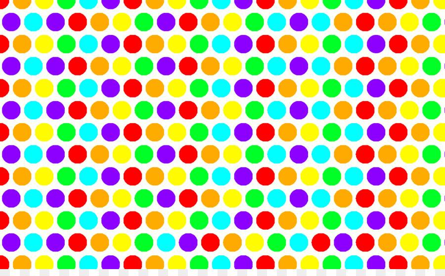 Link Rainbow Dots Polka Dot Desktop Wallpaper