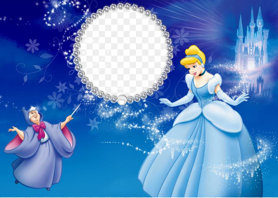 Princess Cinderella Picture Frames Fairy Godmother Child Disney