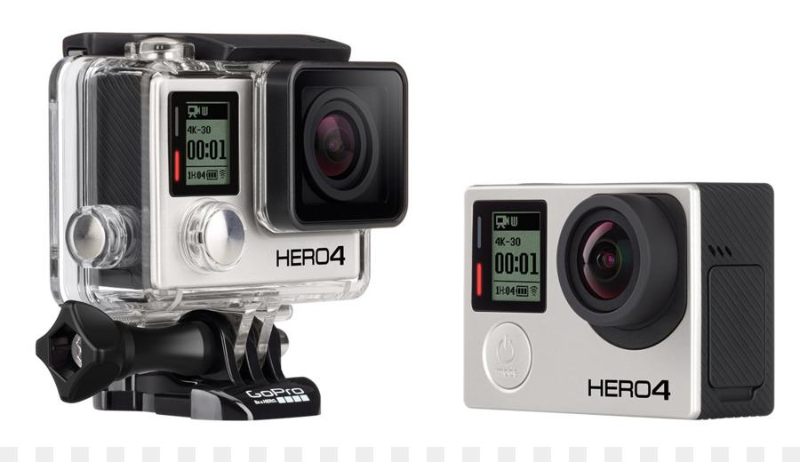 GoPro 4K resolution Action camera Frame rate - gopro cameras png ...