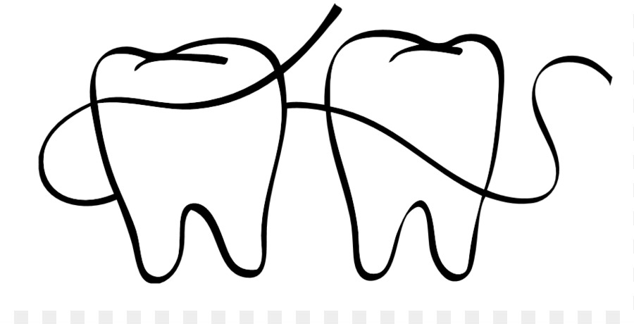 Dental Floss Dentistry Coloring book Clip art - Dental Floss ...