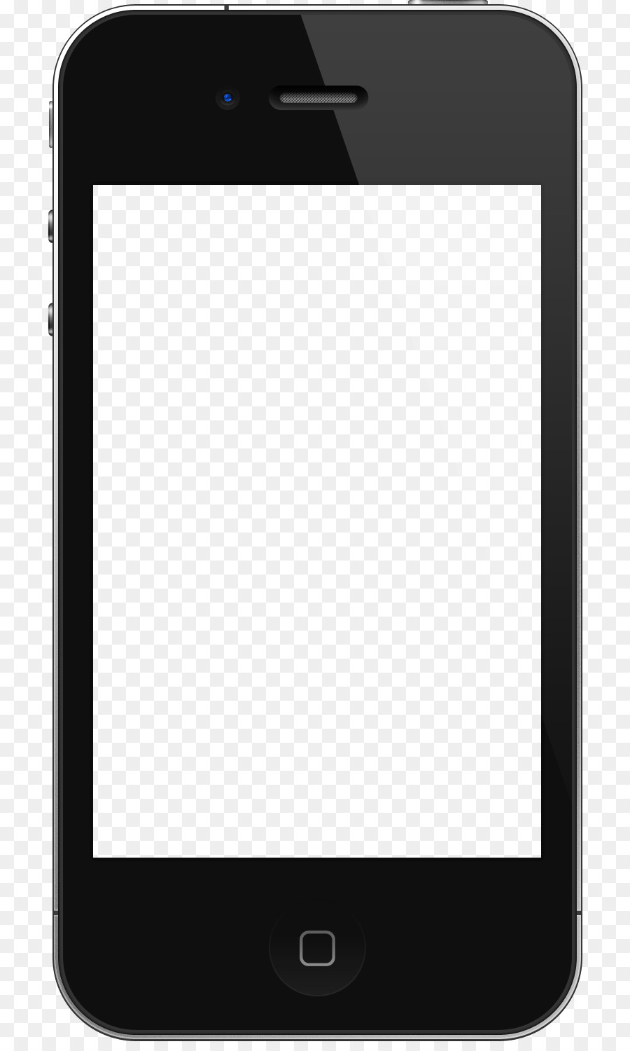iPhone 4 iPhone 6 iPod touch Template - iphone apple png ...Iphone 4 Template