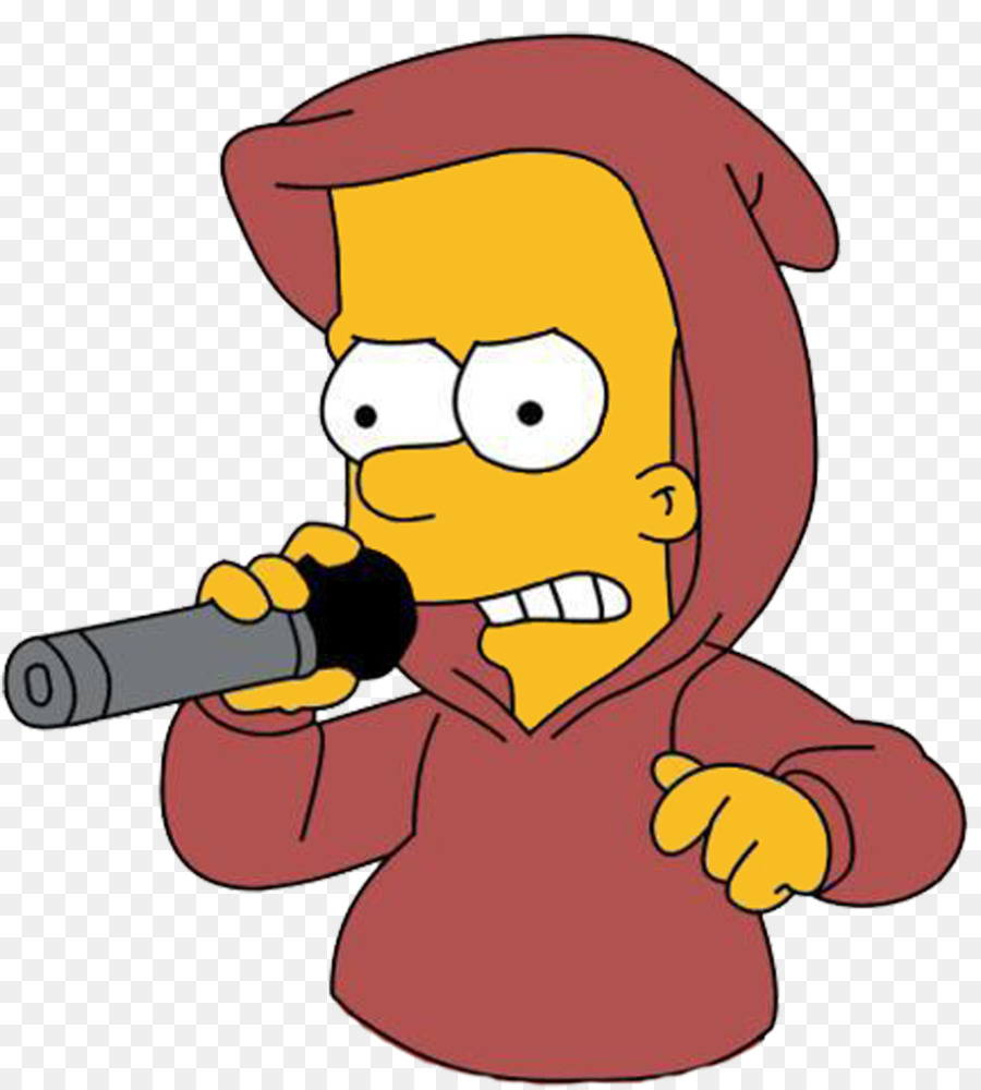 Bart Simpson Homer Pranksta Rap Rapper