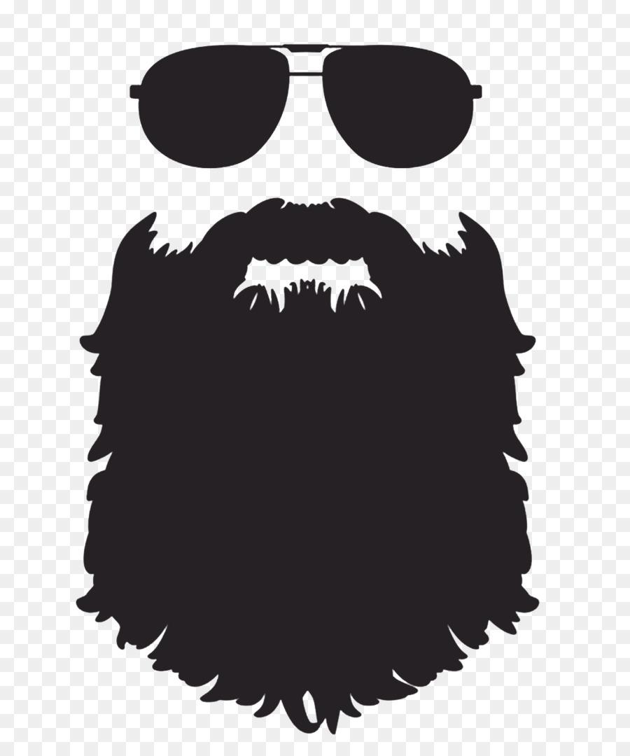 beard silhouette clip art - beard png download - 1034*1234 - free