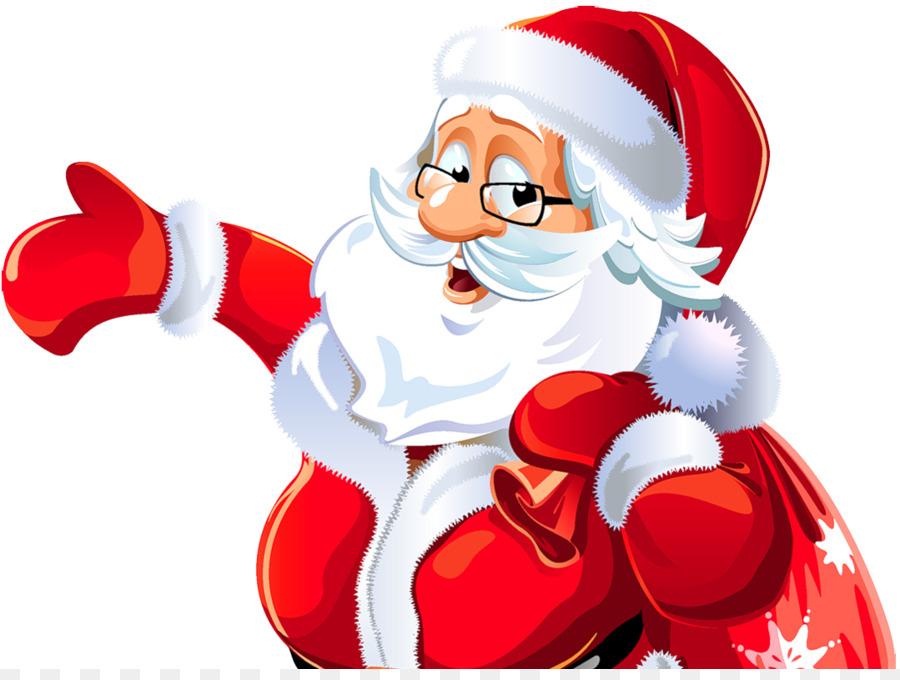 Santa Claus Rudolph Clip Art Excavating Cliparts Christmas