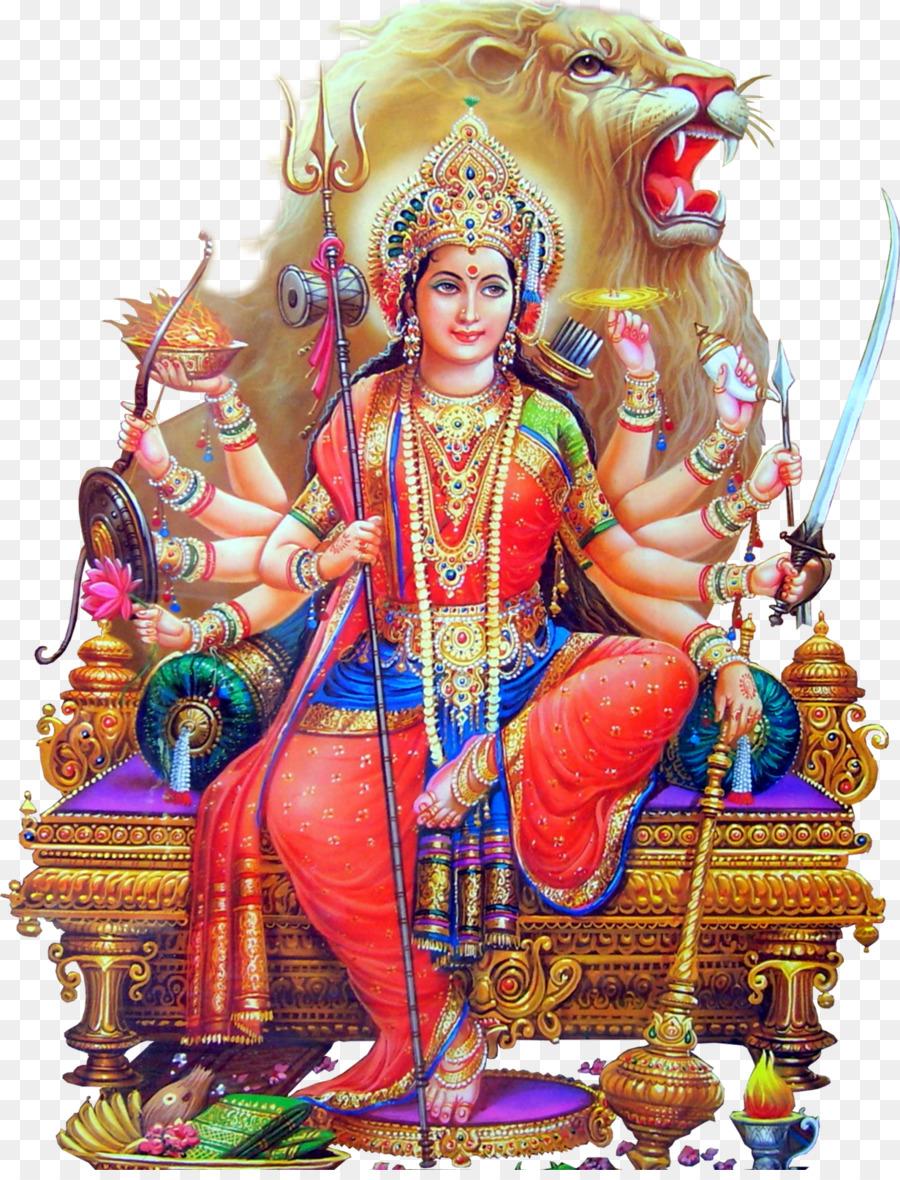 Durga Puja Navaratri Desktop Wallpaper Dussehra Png Download