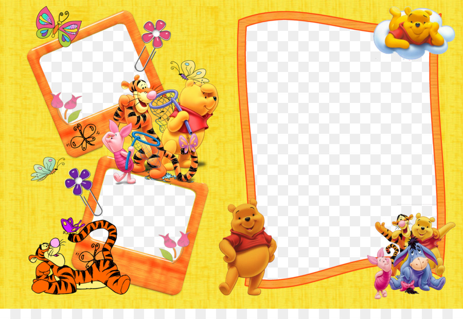 Winnie The Pooh Picture Frames Bear Film Frame Photography Winnie