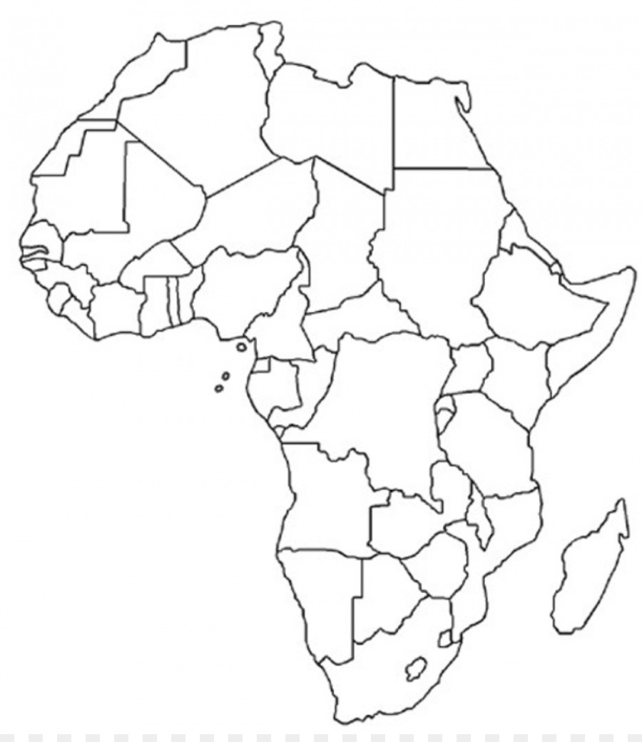 North Africa Blank Map Physische Karte Mapa Polityczna Africa Png
