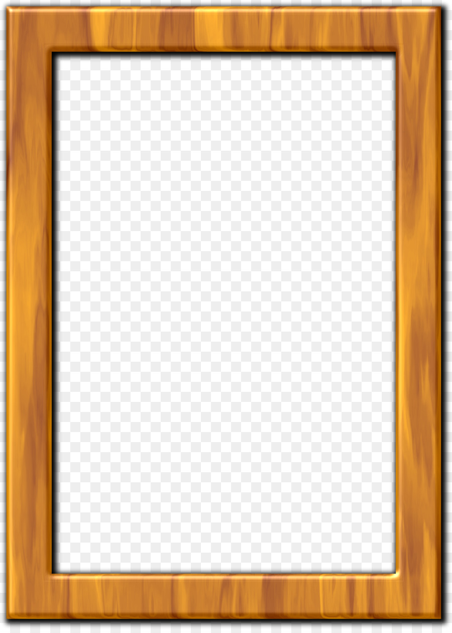 Wood Picture Frames Framing Clip art - square frame png download ...