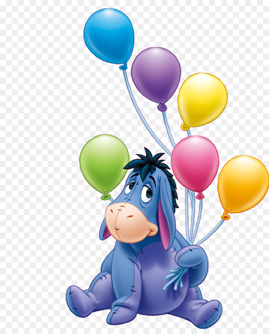 Eeyore S Birthday Party Winnie The Pooh Piglet Birthday